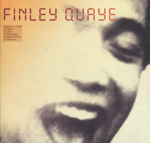 Finley Quaye Maverick A Strike vinyl LP album (LP record) UK FQULPMA553896