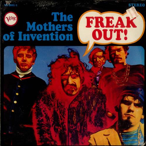 Frank Zappa Freak Out! - Sealed 2-LP vinyl record set (Double Album) US ZAP2LFR522195