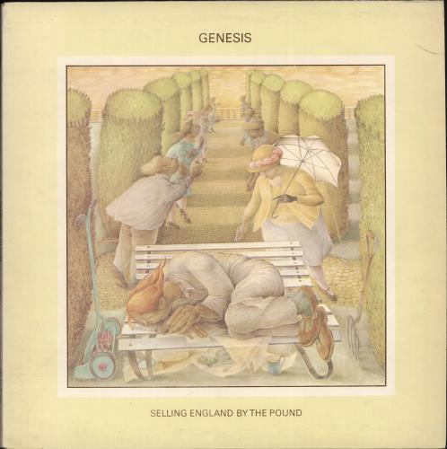 Genesis Selling England By The Pound - 3rd + Insert vinyl LP album (LP record) UK GENLPSE580789
