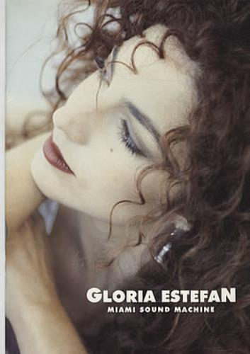 Gloria Estefan Into The Light tour programme UK ESTTRIN257816