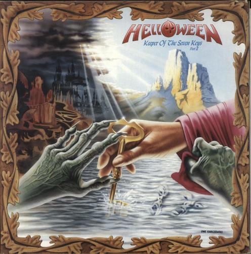 Helloween Keeper Of The Seven Keys - Part II - EX vinyl LP album (LP record) UK HLOLPKE709772