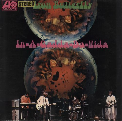 Iron Butterfly In-A-Gadda-Da-Vida - 1st - EX vinyl LP album (LP record) UK IRBLPIN585276