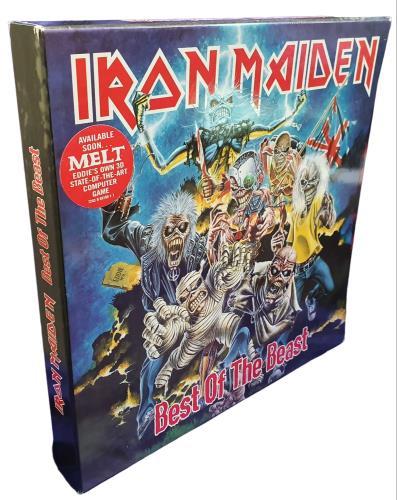 Iron Maiden Best Of The Beast - EX box set UK IROBXBE739354