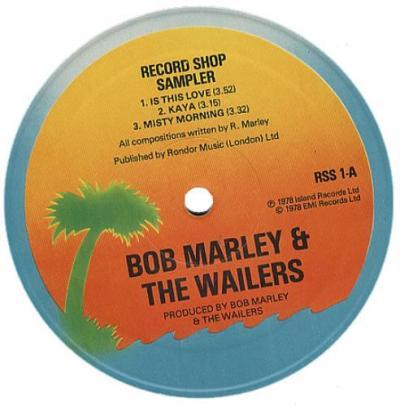 Island Records Island Label Sampler 1 UK Promo 12