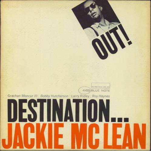 Jackie McLean Destination... Out - 1st - NY vinyl LP album (LP record) US JM7LPDE728630