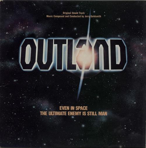 Jerry Goldsmith Outland vinyl LP album (LP record) US J-0LPOU603067