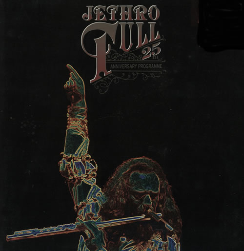 Jethro Tull 25th Anniversary Programme tour programme UK TULTRTH143124