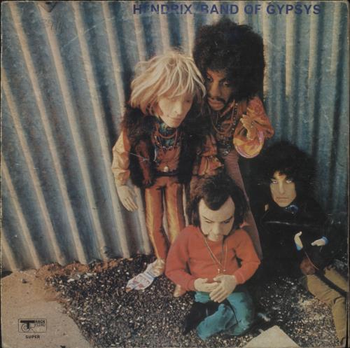 Jimi Hendrix Band Of Gypsys - Puppet - VG vinyl LP album (LP record) UK HENLPBA434356