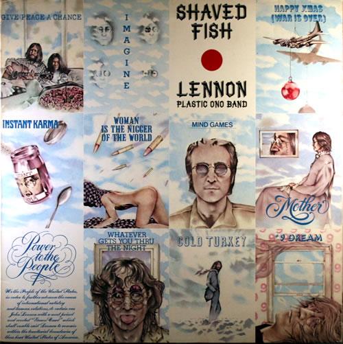 John Lennon Shaved Fish - Gatefold vinyl LP album (LP record) Greek LENLPSH63497