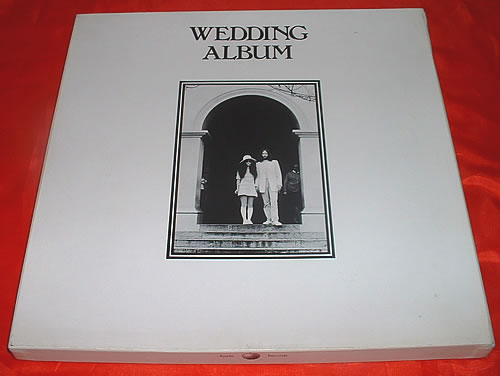 John Lennon Wedding Album - Sealed box set US LENBXWE427075