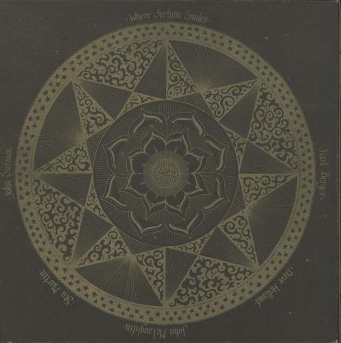 John McLaughlin Where Fortune Smiles - Orange Label vinyl LP album (LP record) UK JMLLPWH702877