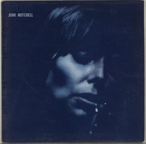 Joni Mitchell Blue - 2nd - Textured - EX vinyl LP album (LP record) UK JNILPBL700450