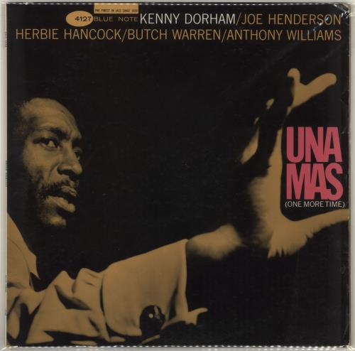 Kenny Dorham Una Mas (One More Time) - 1st - NY vinyl LP album (LP record) US KDALPUN719322