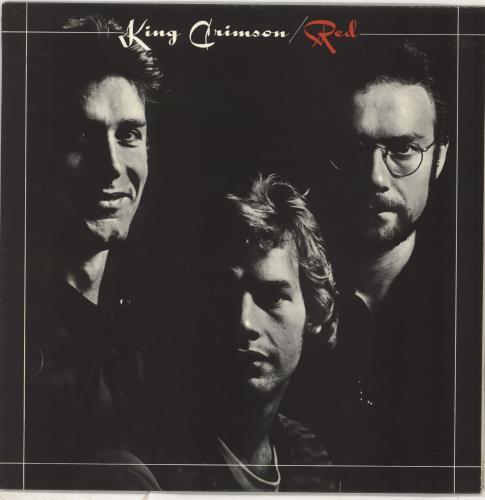King Crimson Red - 1st vinyl LP album (LP record) UK KNCLPRE61962