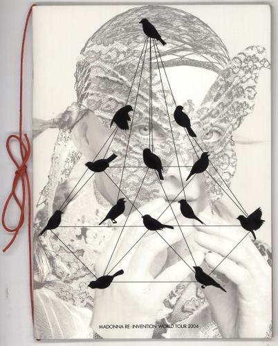 Madonna Re-Invention World Tour 2004 + T-Shirt & Stub tour programme UK MADTRRE728689