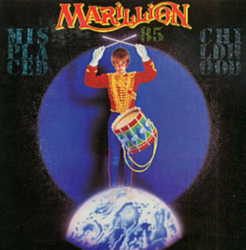 Marillion Misplaced Childhood 85 tour programme UK MARTRMI162295