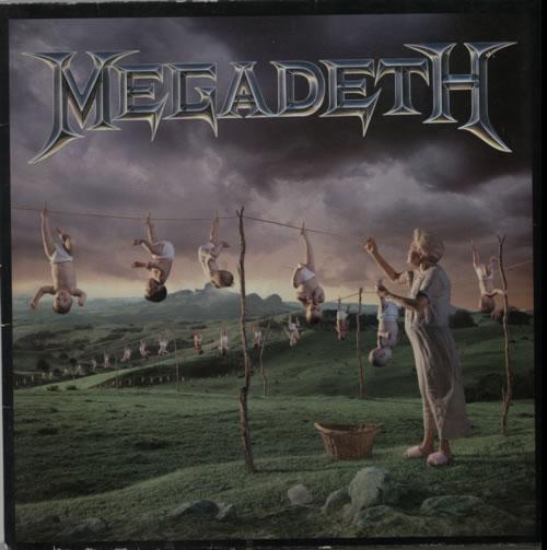 Megadeth Youthanasia - Blue vinyl vinyl LP album (LP record) UK MEGLPYO495837