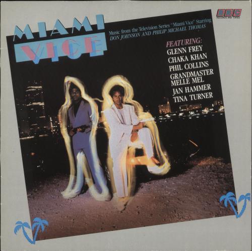 Miami Vice Miami Vice vinyl LP album (LP record) UK MIVLPMI393281