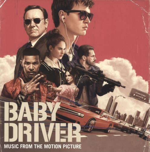 Original Soundtrack Baby Driver 2-LP vinyl record set (Double Album) UK OST2LBA739350