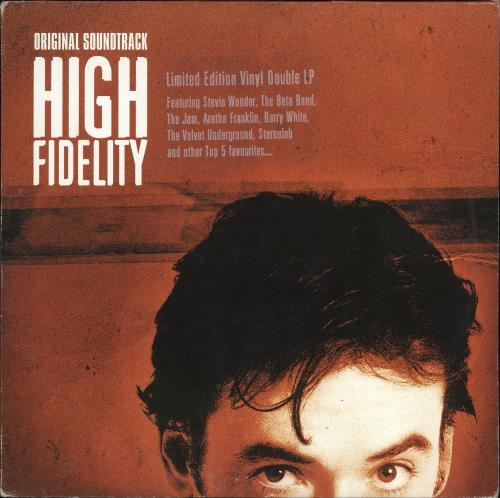 Original Soundtrack High Fidelity 2-LP vinyl record set (Double Album) UK OST2LHI724452
