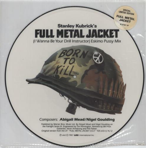 "Original Soundtrack I Wanna Be Your Drill Instructor 12"" vinyl picture disc 12inch picture disc record UK OST2PIW624255"