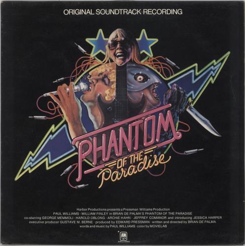 Original Soundtrack Phantom Of The Paradise vinyl LP album (LP record) UK OSTLPPH513070