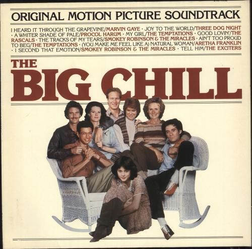 Original Soundtrack The Big Chill vinyl LP album (LP record) German OSTLPTH738062