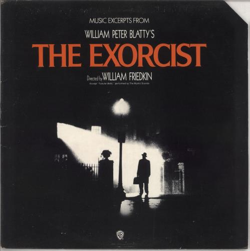 Original Soundtrack The Exorcist - deletion cut vinyl LP album (LP record) UK OSTLPTH739269