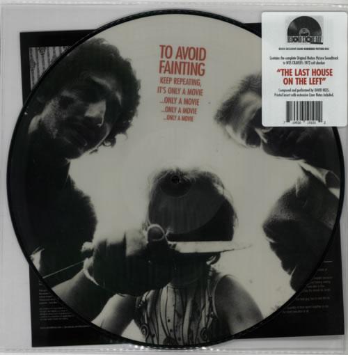 Original Soundtrack The Last House On The Left - RSD - Numbered picture disc LP (vinyl picture disc album) UK OSTPDTH602762