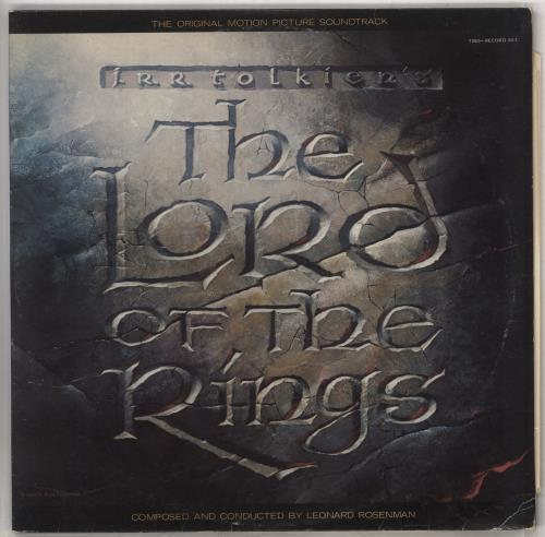 Original Soundtrack The Lord Of The Rings 2-LP vinyl record set (Double Album) UK OST2LTH585281