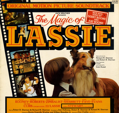 Original Soundtrack The Magic Of Lassie vinyl LP album (LP record) UK OSTLPTH563963