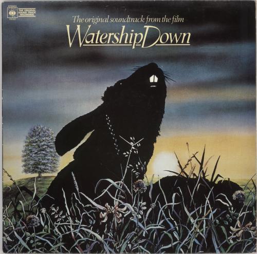 Original Soundtrack Watership Down - gold stamp vinyl LP album (LP record) UK OSTLPWA746255