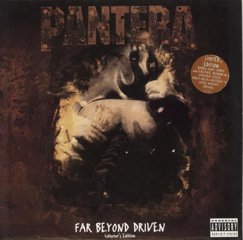 Pantera Far Beyond Driven - Double - EX 2-LP vinyl record set (Double Album) UK PAN2LFA746167
