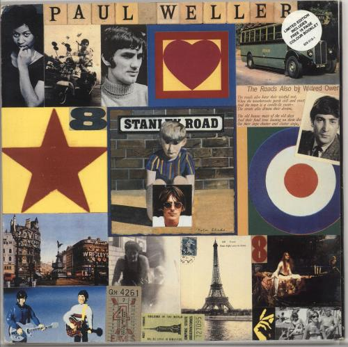 Paul Weller Stanley Road + Booklet vinyl LP album (LP record) UK WELLPST401937