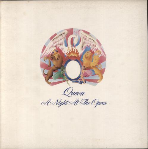 Queen A Night At The Opera - 1st - VG vinyl LP album (LP record) UK QUELPAN629225