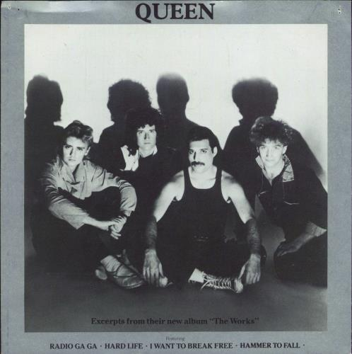 """Queen Excerpts From The Works - Flexi 7"""" vinyl single (7 inch record) UK QUE07EX18348"""