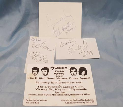 Queen International Fan Club Convention memorabilia UK QUEMMIN697354