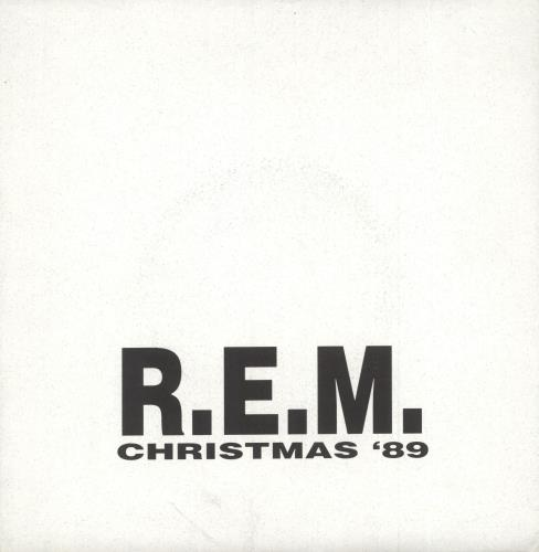 "REM Good King Wenceslas + Christmas Card 7"" vinyl single (7 inch record) US REM07GO745867"