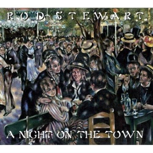 Rod Stewart A Night On The Town UK 2 CD album set Double