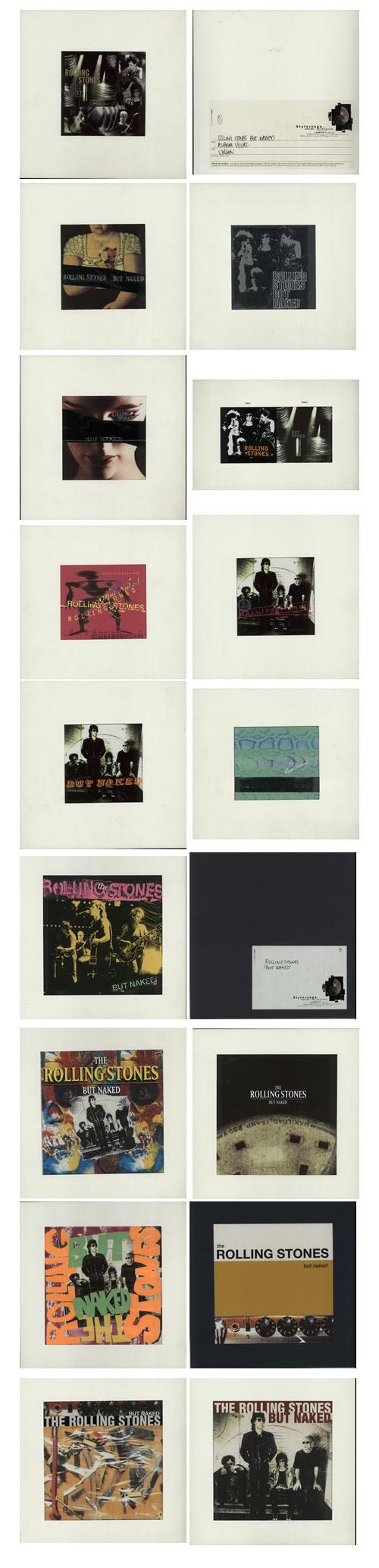Rolling Stones But Naked - Unreleased artwork UK ROLARBU635831