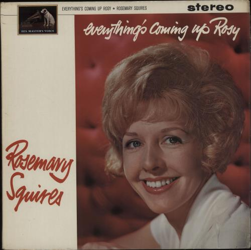 Rosemary Squires Everything's Coming Up Rosy vinyl LP album (LP record) UK RJ7LPEV662484