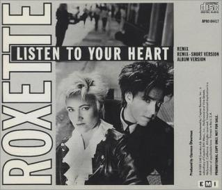 Image result for listen to your heart roxette