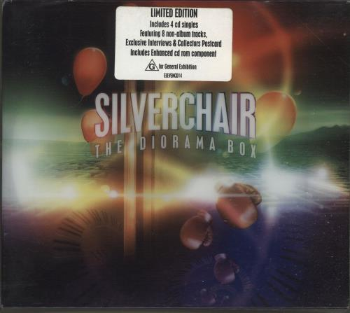 Silverchair The Diorama Box CD Single Box Set Australian SLVCXTH230874