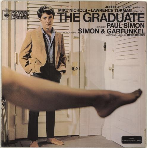 Simon & Garfunkel The Graduate - front lam vinyl LP album (LP record) UK SGFLPTH688799