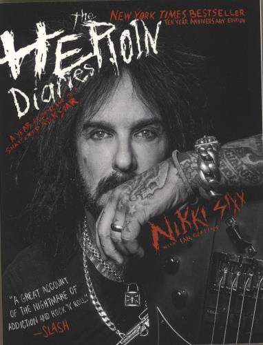 Sixx:AM The Heroin Diaries: A Year in the Life of a Shattered Rock Star [2017 Edition] book UK 6AMBKTH730268