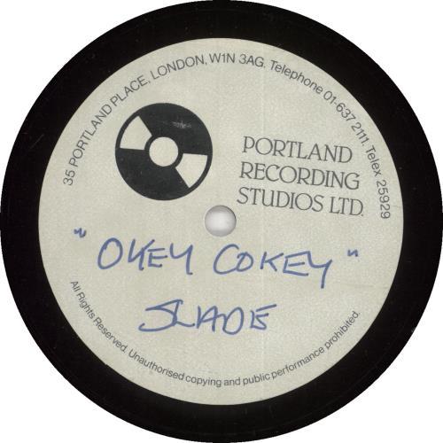 Slade Okey Cokey - Acetate acetate UK SDEATOK734922