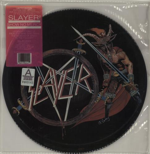 Slayer Show No Mercy picture disc LP (vinyl picture disc album) US SLAPDSH87115