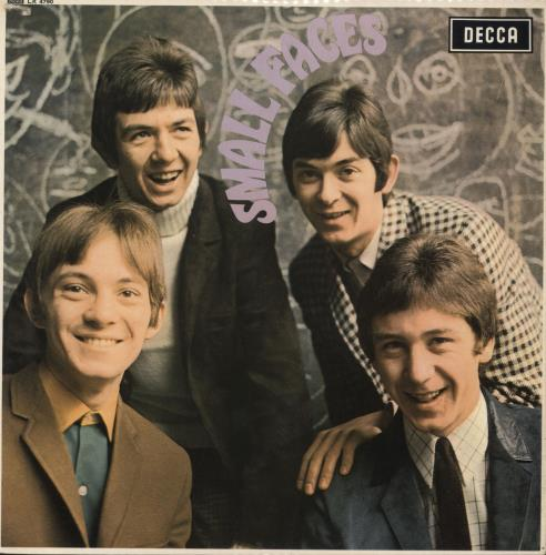 Small Faces Small Faces - 1st vinyl LP album (LP record) UK SMFLPSM70979