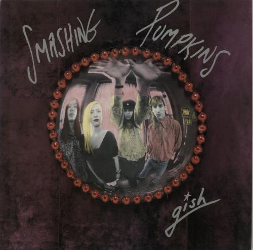 Smashing Pumpkins Gish - EX vinyl LP album (LP record) UK SMPLPGI171983