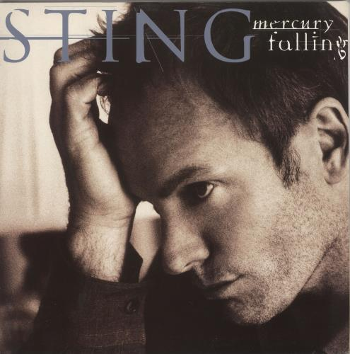 Sting Mercury Falling vinyl LP album (LP record) UK STILPME207357